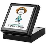 BusyBodies Irish Dancing Keepsake Box