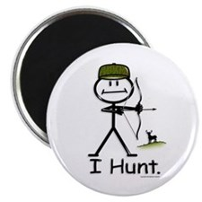 BusyBodies Bow Hunter Magnet