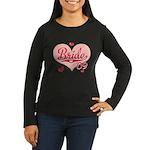 Sporty Heart Pink Bride 09 Long Sleeve Tshirt