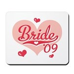 Sporty Heart Pink Bride 09 Mousepad
