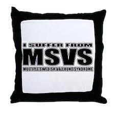Swedish Vallhund Throw Pillow