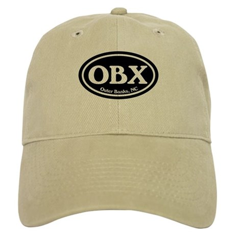 OBX Outer Banks, NC Oval Cap