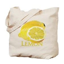Lemon Citrus Tote Bag