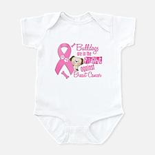 Bulldogs Against Breast Cancer 2 Infant Bodysuit