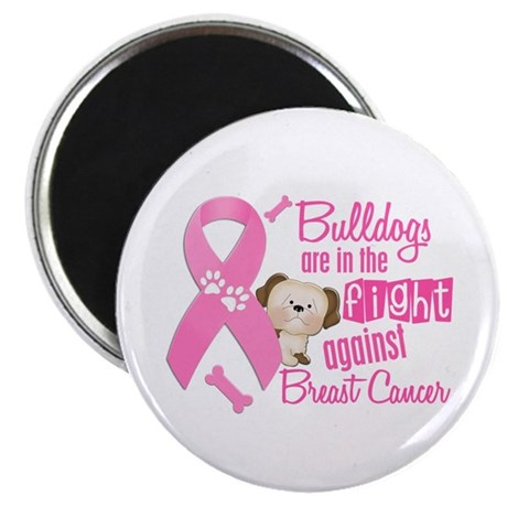 Bulldogs Against Breast Cancer 2 Magnet