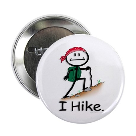 """BusyBodies Hiking 2.25"""" Button (100 pack)"""