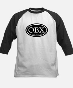 OBX Outer Banks, NC Oval Kids Baseball Jersey
