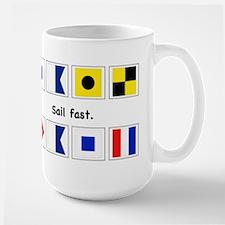 Sail fast mug