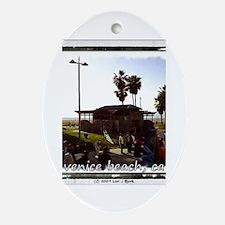 Unique Venice ca Oval Ornament