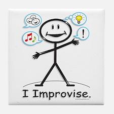 BusyBodies Improv/Comedy Tile Coaster