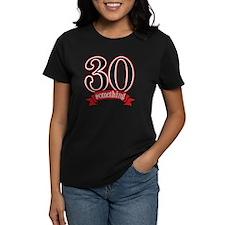 30 Something 30th Birthday Tee