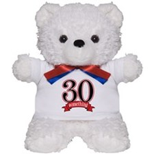 30 Something 30th Birthday Teddy Bear