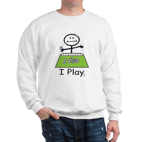 Mahjong Stick Figure Sweatshirt