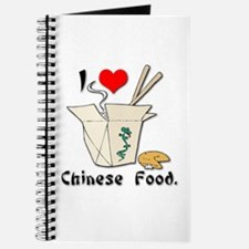 I Heart (Love) Chinese Food Journal