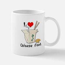I Heart (Love) Chinese Food Mug