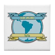World Champion YaYa Tile Coaster