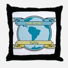 World Champion YiaYia Throw Pillow