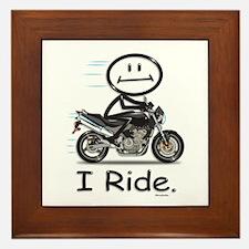 Motorcycle Framed Tile