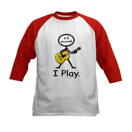 BusyBodies Acoustic Guitar Kids Baseball Jersey