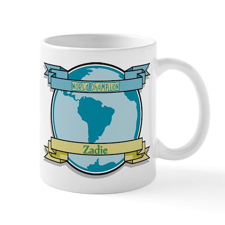 World Champion Zadie Mug