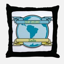 World Champion Zadie Throw Pillow