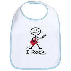 I Rock Bib