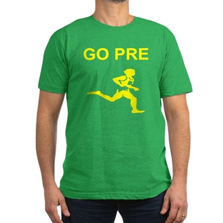 GO PRE Men's Fitted T-Shirt (dark)