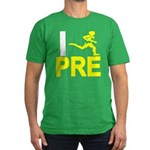 I Run PRE Men's Fitted T-Shirt (dark)