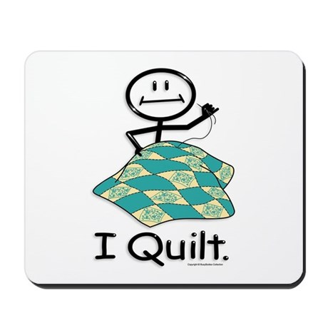 BusyBodies Quilt Mousepad