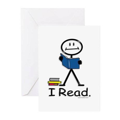 BusyBodies Reading Greeting Cards (Pk of 10)