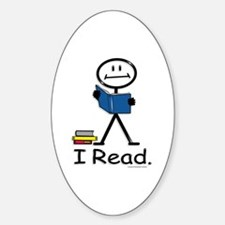 BusyBodies Reading Oval Decal