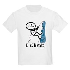 BusyBodies Rock Climbing Kids T-Shirt