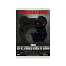 The BERINATOR (Movie Poster S Rectangle Magnet