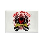 Red Water Tragedy Rectangle Magnet