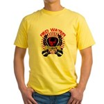 Red Water Tragedy Yellow T-Shirt