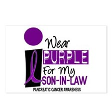 I Wear Purple For My Son-In-Law 9 PC Postcards (Pa