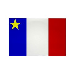 Acadian Stuff Rectangle Magnet (10 pack)