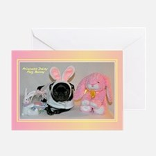 Daisy Bunny Greeting Card