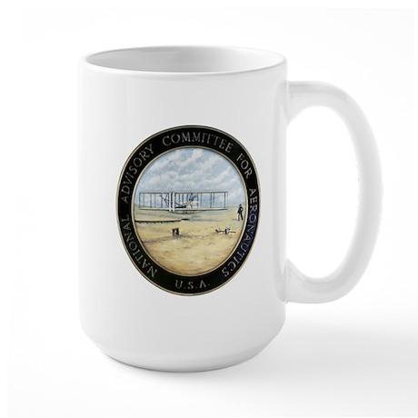 Vintage NACA (pre NASA) Emblem Large Mug