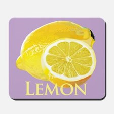 Lemon Citrus Mousepad
