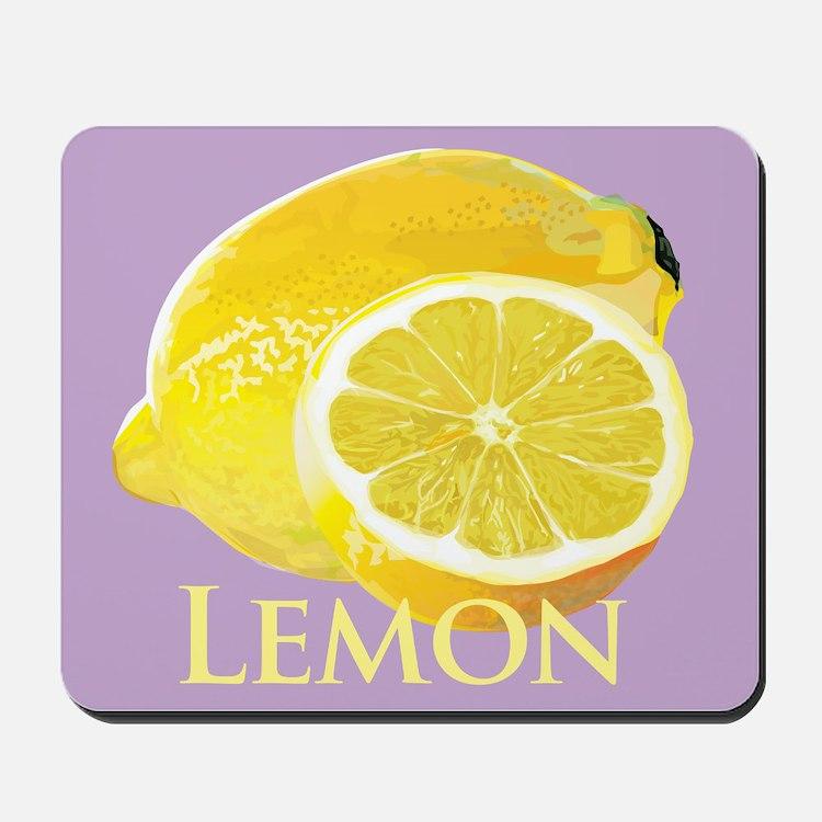 Lemon Citrus Mousepad