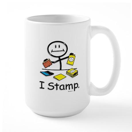 BusyBodies Stamping Large Mug