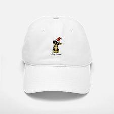Christmas Puppy Baseball Baseball Cap