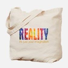 Reality Imagination Tote Bag
