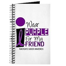 I Wear Purple For My Friend 9 PC Journal