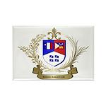 Authentic ACADIAN-CAJUN Crest Rectangle Magnet (10