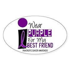 I Wear Purple For My Best Friend 9 PC Decal