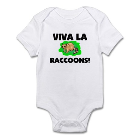 Viva La Raccoons Infant Bodysuit