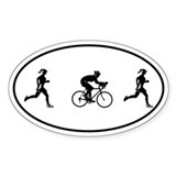 Duathlon Bumper Stickers