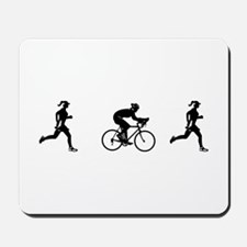 Women's Duathlon Mousepad